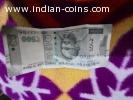 ₹500 rupee 786 note