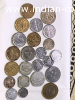 Old 25 paise Indian Coins