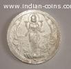 Rare pure silver standing Lakshmi coin