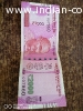Rs2000 note with 786 no